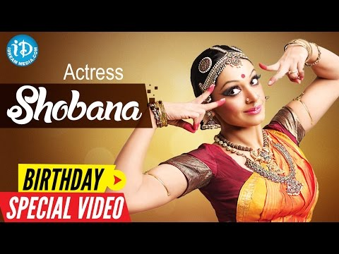 Actress Shobana Birthday Special Video     Special Wishes From iDream Media    Something Special #28