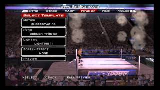 WWE SVR 11 PSP Brock Lesnar Entrance