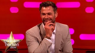 Chris Hemsworth's Son Channels His Inner Thor | The Graham Norton Show