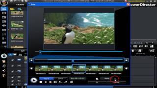 CyberLink PowerDirector 8 - Tutoriel - Dans la Nouvelle Fenêtre de Découpe