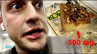 i ate too much of an edible on my flight home...i wish this was clickbait | Chris Klemens