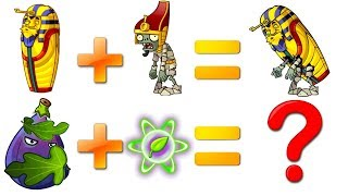 Every Plant Power-Up! Plants vs Zombies 2 vs Pharaoh Zombie PVZ 2 Primal Plantas Contra Zombies 2