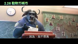 【動物方城市】新警察報到篇,2月26日(五)都會叢林歡迎您!