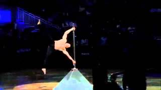 Dominic Lacasse - ESPN - Around The Horn - The Human Flag - Halftime show - NBA
