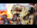 Ultimate Cheese Sandwich! - Cheese King (Toasted on Fire)