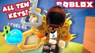 FINDING ALL THE SECRET KEYS IN THE AIRSHIP! | Roblox Ice Cream Simulator