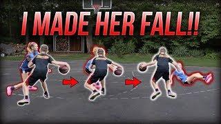 I BROKE My Girlfriend's Ankles BAD!! 1 ON 1 VS MY GF!
