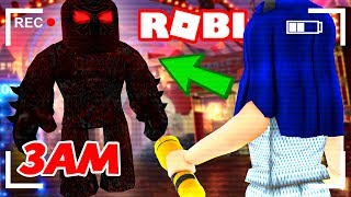 DO NOT PLAY THIS ROBLOX GAME AT 3AM! I SEE A GHOST!! (SCARY)