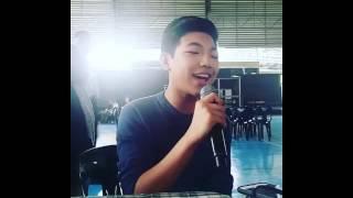 Darren Espanto sings Hello (01-10-2015)