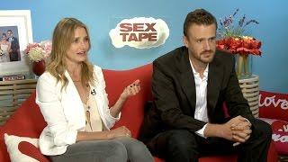 Cameron Diaz og Jason Segel om filmen «Sex Tape»