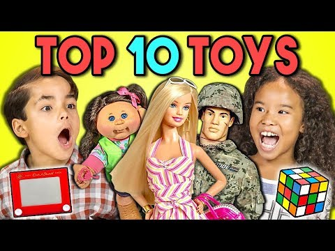 Xxx Mp4 KIDS REACT TO TOP 10 TOYS OF ALL TIME 200th Episode 3gp Sex