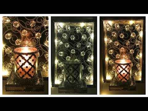 Xxx Mp4 GLAM DIY WALL DECOR Z GALLERIE INSPIRED SCONCES MY COST 5 DOLLAR TREE ITEMS 3gp Sex