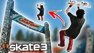 Skate 3: MEGA PARK BANNER FLIP!? | Epic Challenges!