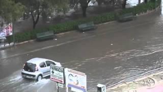 NUBIFRAGIO A PALERMO, DOPO 24 ORE LA CITTÀ ANCORA SOMMERSA