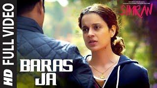 Baras Ja Full Video Song | Simran | Kangana Ranaut | Sachin-Jigar | Mohit Chauhan