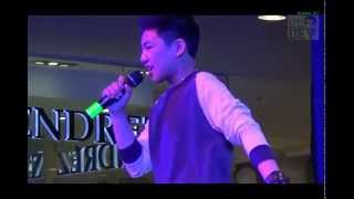 Darren Espanto singing See You Again  in Subic