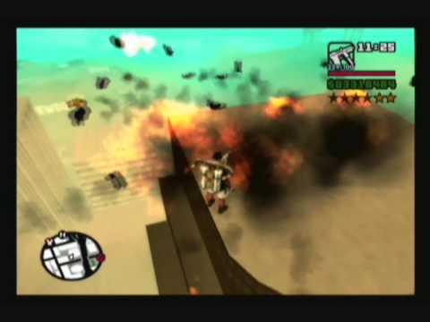GTA San Andreas Huge Explosions Video 1