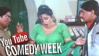 Laxmikant Berde lands in Police Station - Comedy Scene - Comedy Week