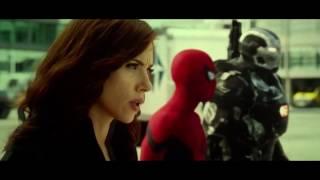 Captain America : Civil War  - Airport Battle Fight Scene Part 2 HD