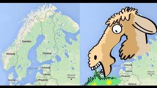 Visual Trick - Learn Northern Europe