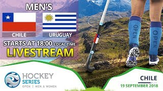 Chile v Uruguay | 2018 Men's Hockey Series Open | FULL MATCH LIVESTREAM