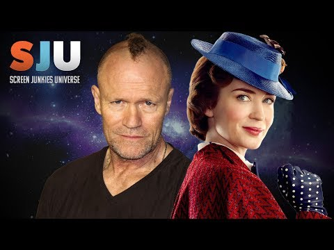 Michael Rooker Reacts To New Mary Poppins! - SJU