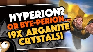 19x HYPERION Crystal Opening Extravaganza