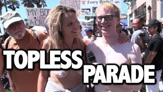 Joe Goes To The Topless Parade