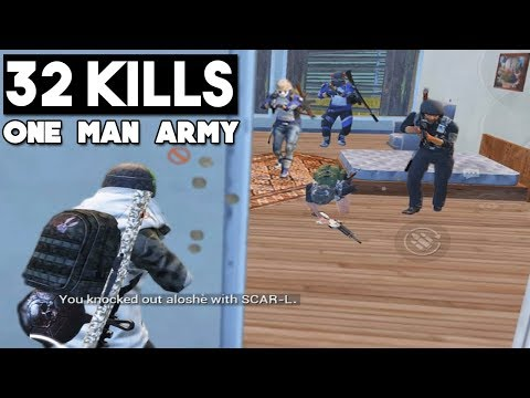 NEW RECORD ON ERANGEL 32 KILLS Solo vs Squad PUBG Mobile