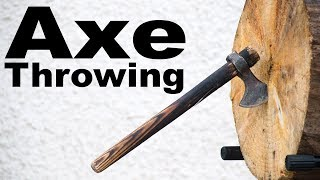 This Week I Learned to Throw an Axe