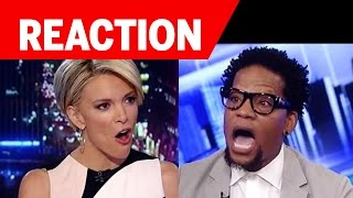 Megyn Kelly Wrecks DL Hughley on Fox News about Blacks and Police Shootings (REACTION)