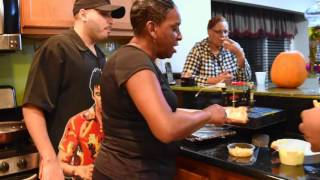 Auntie Fee's Shrimp Grilled Cheese Toast
