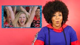 Professional Cheerleader Reviews Iconic Cheer Scenes