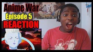 REACTING TO: Anime War Episode 5 - Dragon by MaStar Media