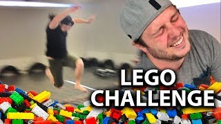 LEGO LONG JUMP CHALLENGE!!