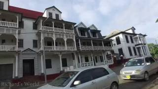The best walking video of Paramaribo, Suriname August 2016 - Video 1 DJI OSMO