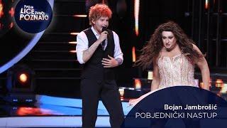 Pobjednički nastup Bojan Jambrošić kao Ed Sheeran: Thinking Out Loud