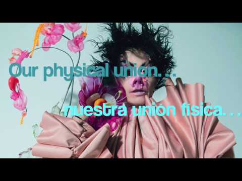 Björk - Blissing Me (feat. serpentwithfeet, Arca) sub español lyrics