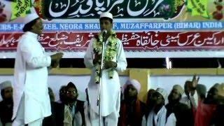 Absar Zafar(son of Zafar Jalalpuri)  on 1st March 2016 at Urs E Hafeezee,Neora Shareef,Muzaffarpur