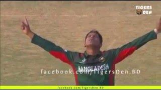 saifuddin awesome 3 wicket BAN vs South africa U-19