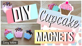DIY: cupcake magnets | Cute and personalized Christmas gift ideas  | Lairy Valino