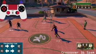 NBA 2k16 | TRYNA BE A DRIBBLE GOD ON 16 | HOW TO LOWKEY SPAM CROSSOVER 16 | MYPARK 2K16