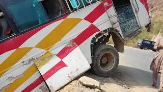 OMG!!!  Bus accident in Pakistan. A.K  kotli MUST WATCH