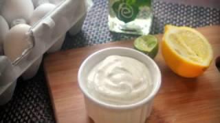 মেয়োনিজ || Mayonnaise Recipe Bangla || Home Made Mayonnaise || How To Make Mayonnaise