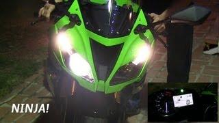 2013 Kawasaki NINJA ZX6R 636 Super Sportbike