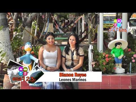 Hotel y Restaurante Leones Marinos playa El Cuco San Miguel.