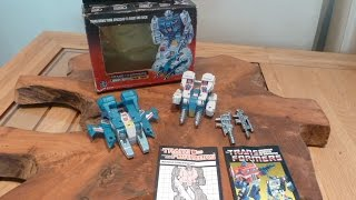 Transformers G1 JUMPSTARTERS  TOPSPIN & TWINTWIST Review