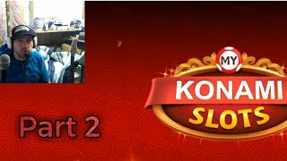 MY KONAMI SLOTS Vegas Casino Slot Machines P2 Free Mobile Game Android Ios Gameplay Youtube YT Video