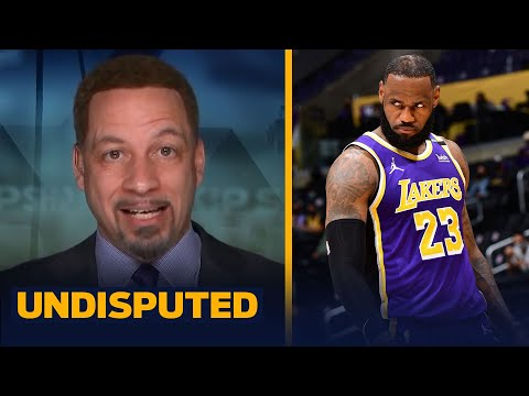 Lakers should be very concerned LeBron s health AD s struggles — Broussard NBA UNDISPUTED