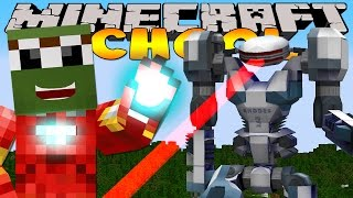 Minecraft School - MINIONS ROBOT ATTACKS THE SCHOOL!